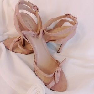 °Who What Wear Blush Heels°
